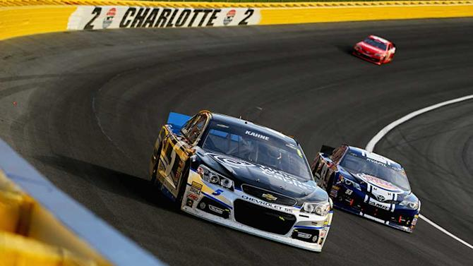 Kasey Kahne can't second-guess staying out