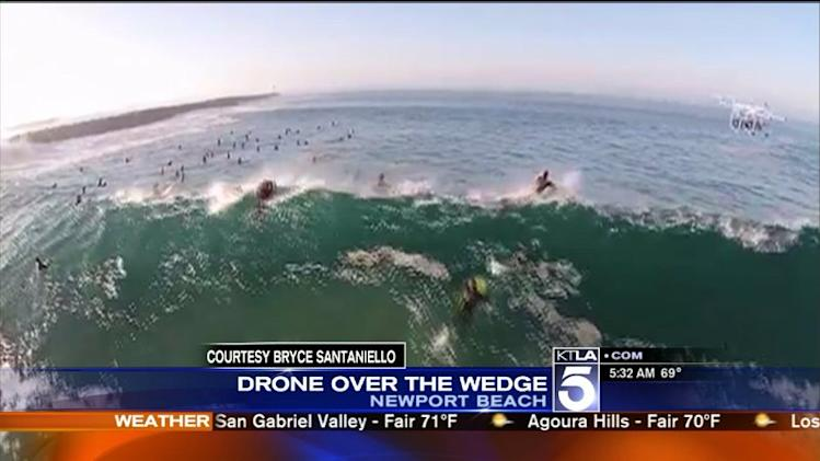 SoCal Beaches Brace for Another Day of `Damaging` High Surf, `Strong` Rip Currents