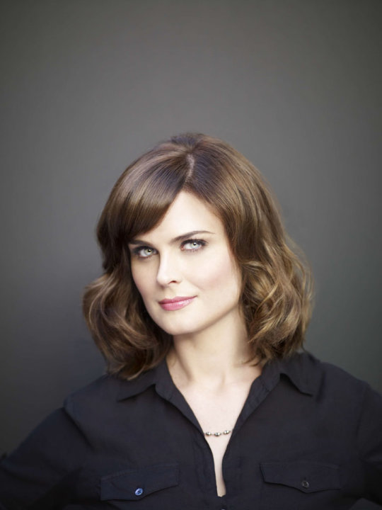 "Emily Deschanel stars as Dr. Temperance Brennan in ""Bones."""