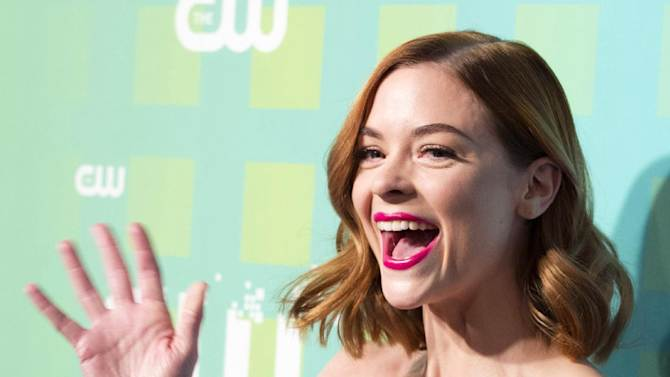 Jamie King attends The CW Television Network's Upfront 2012 in New York, Thursday, May 17, 2012. (AP Photo/Charles Sykes)