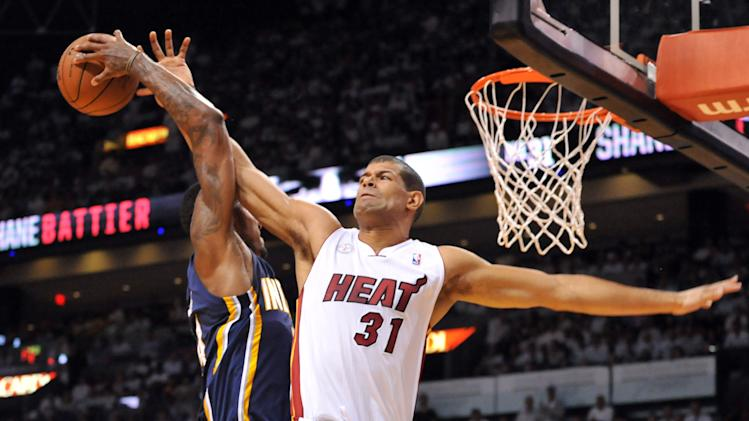 NBA: Playoffs-Indiana Pacers at Miami Heat