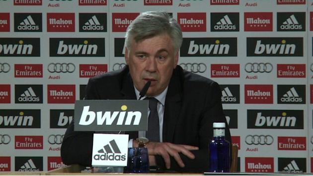 Ancelotti happy finally to join Real Madrid