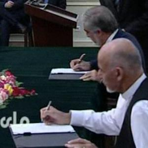 AGREEMENT ENDS WITH A NEW PRESIDENT FOR AFGHANISTAN