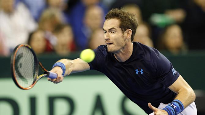 Tennis: Great Britain's Andy Murray in action