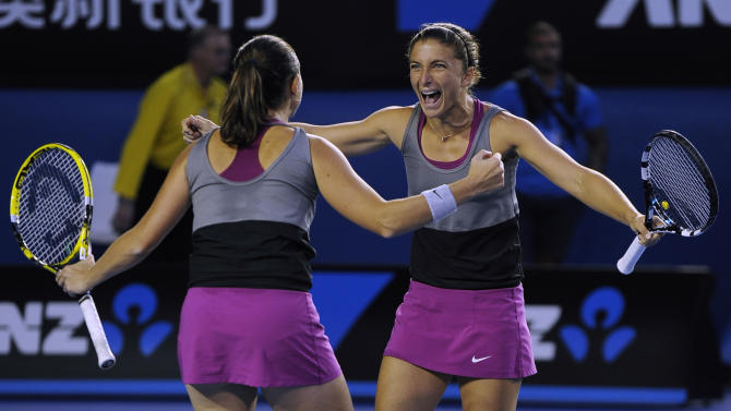 Italy to rest top players vs US in Fed Cup