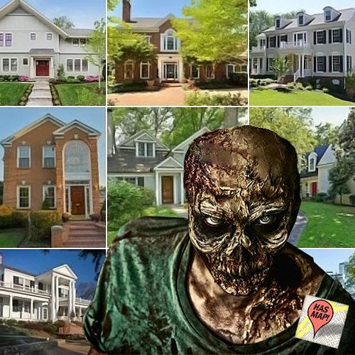 Mapping the 10 Alexandria Homes the Walking Dead Cast Should Feast Their Eyes On