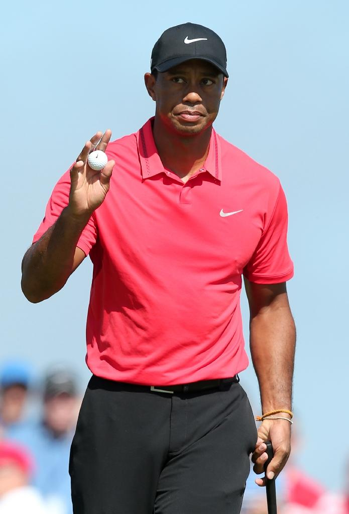 Report: Tiger Woods' plane spotted at Augusta airport