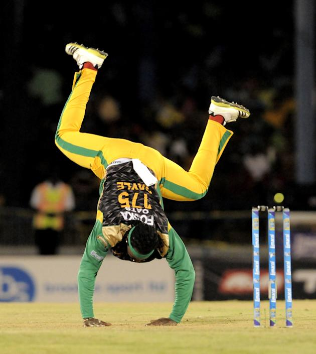 Guyana Amazon Warriors v Jamaica Tallawahs - CLP 2013