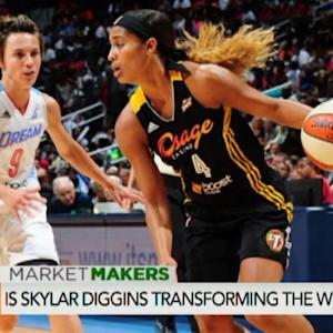 WNBA's Diggins Builds Her Brand On and Off the Court