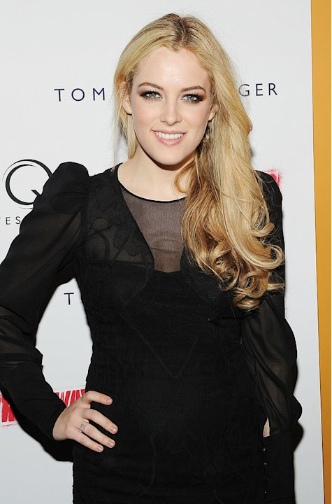 The Runaways NY premiere 2010 Riley Keough