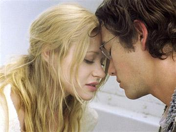 Emilie De Ravin and Joseph Gordon-Levitt in Focus Features' Brick