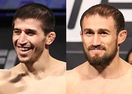 UFC Headliners Rustam Khabilov and Ali Bagautinov Reportedly Got into Real Fight