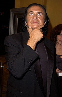 Gene Simmons at the Westwood premiere of From Hell