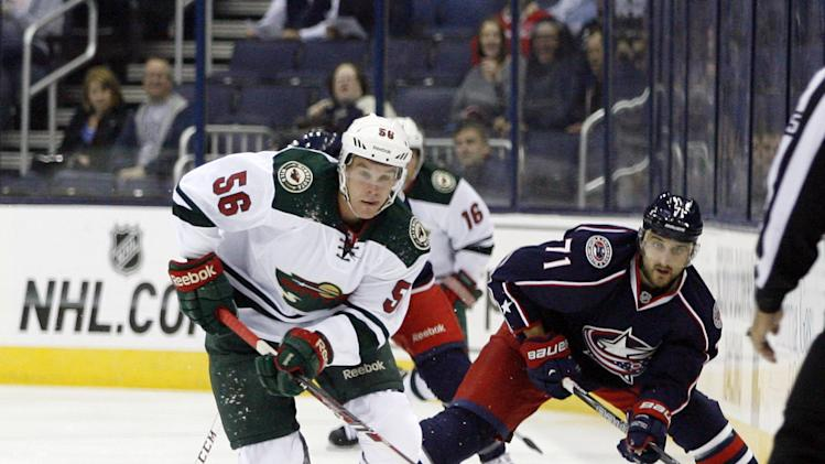 Zucker's SO goal lifts Wild over Blue Jackets, 3-2