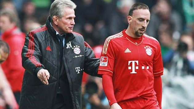 FC Bayern Mnchen Heynckes Ribery