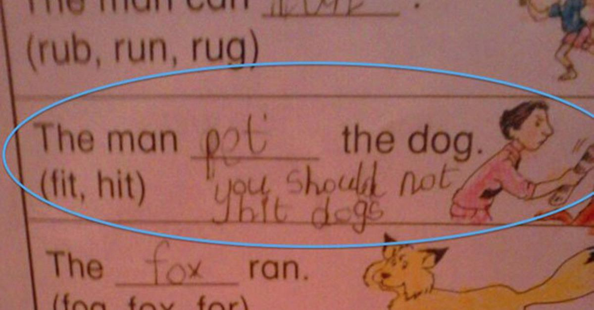 15 Completely Wrong Test Answers That Are So Funny