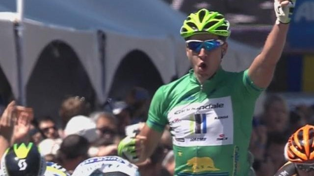 Sagan wins final Tour of California stage
