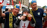 Euro 2012: Swedes To Swamp England Fans