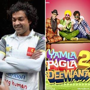 Bobby Deol To Skip Friendly Cricket Match Owing To 'Yamla Pagla Deewana 2' Promotions
