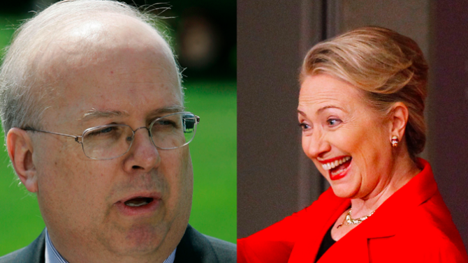 Karl Rove Is a Hillary Clinton Blood Clot Truther