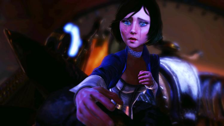 "FILE - This publicity photo released by 2K Games/Irrational Games shows the character, Elizabeth, in a scene from the video game ""BioShock Infinite."" (AP Photo/2K Games/Irrational Games, File)"