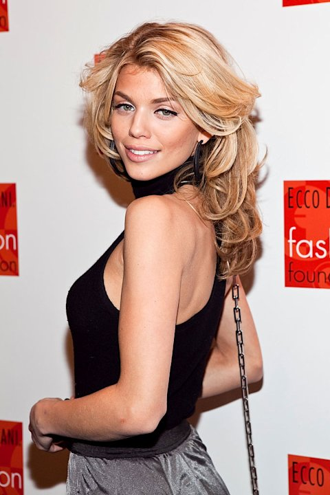 AnnaLynne McCord attends Ecco Domani Fashion Foundation Awards Recipients Fall 2010 Show during Mercedes-Benz Fashion Week at Bryant Park on February 15, 2010 in New York City.