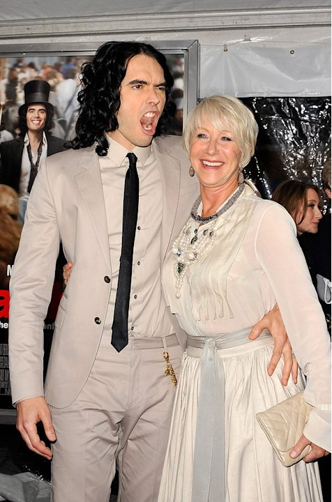 Arthur NY Premiere 2011 Russell Brand Helen Mirren