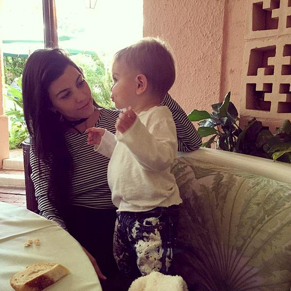 Kourtney Kardashian Enjoys Sweet 'Lunch Date' with Son Reign