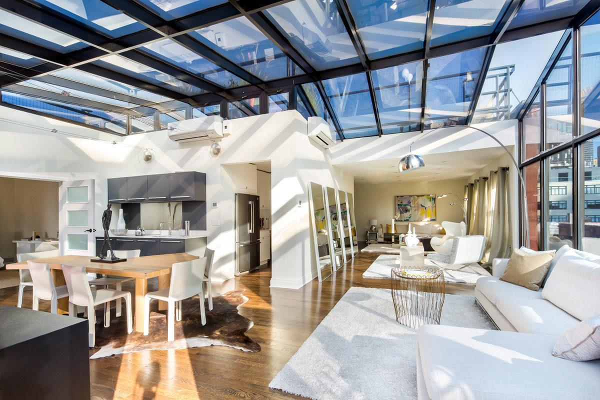 Semi-Celebrity Real Estate: Airy Penthouse From 9 1/2 Weeks Wants $20,000/Month