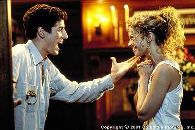 Darren ( Jason Biggs ) and Sandy ( Amanda Detmer ) finally realize their true love for each other in Columbia's Saving Silverman