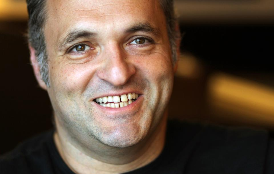 "Director Genndy Tartakovsky, from the upcoming film ""Hotel Transylvania"", poses for a portrait during Comic-Con, Thursday, July 12, 2012, in San Diego. (Photo by Matt Sayles/Invision/AP)"