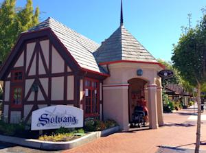 This Oct. 1, 2014 photo shows the Solvang Visitors…