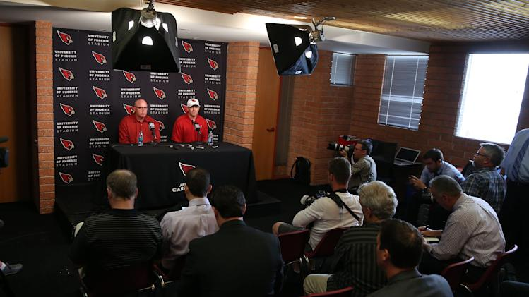 NFL: Arizona Cardinals-Carson Palmer Press Conference