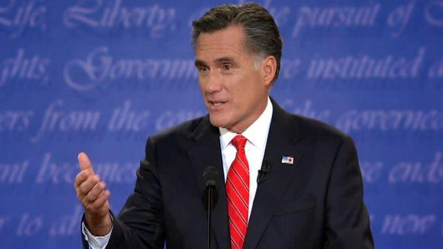 Debate highlight: Romney gives notice to Big Bird