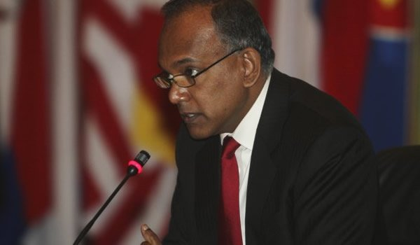 Minister for Foreign Affairs and Minister for Law, K Shanmugam, stressed that Singapore's diplomats 'observed boundaries of M'sian law'. (AP file photo)