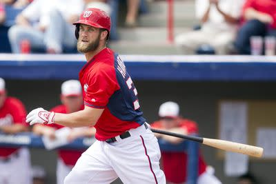 Say hey, baseball: Bryce Harper is out to prove himself once again