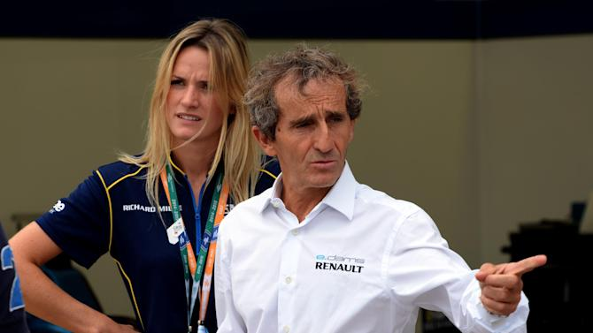 Formula One - Prost warns Mercedes over Singapore street fighters