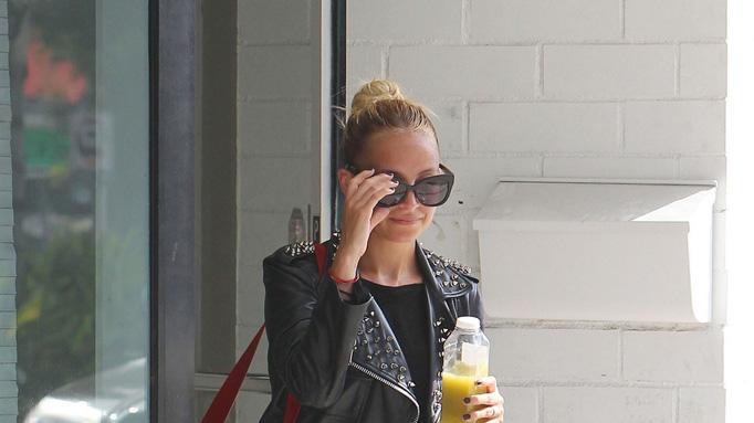 Nicole Richie Leaving Gym