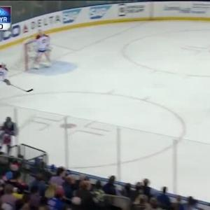 Tanner Glass Hit on Mike Weaver (04:46/1st)
