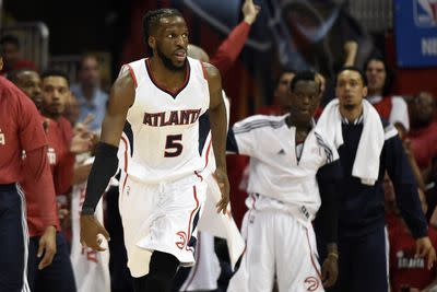 Hawks' DeMarre Carroll will play Game 2 against Cavaliers despite knee injury
