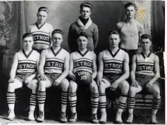 The 1918 Detroit Lakes state tournament team — Becker County Historical Society