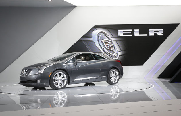 The Cadillac ELR is unveiled …