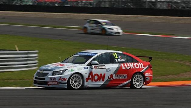 WTCC - Muller sets test pace in Moscow
