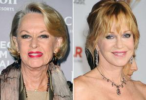 Tippi Hedren, Melanie Griffith | Photo Credits: Alberto E. Rodriguez/Getty Images; Jeffrey Mayer/WireImage