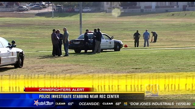 Police investigate stabbing near recreation center in Linda Vista