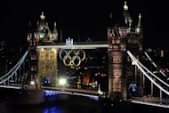 The 2012 Olympic rings are pictured on London's Tower Bridge. Sporting nations should up the fight against racism ahead of the Olympics to avoid a repeat of extremist incidents at the Euro 2012 football championship, a UN expert said on Tuesday