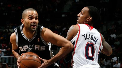 Tony Parker, Spurs hold off Hawks, 98-93
