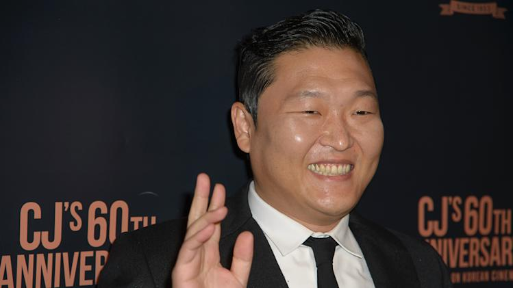 Psy attends the Spotlight On Korean Cinema event at the Museum of Modern Art on November 7, 2013 in New York City