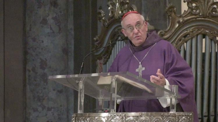 Cardinal Jorge Bergoglio from Argentina has been elected by the cardinals. He has taken the name Pope Francis