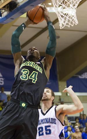 No. 18 Baylor beats Chaminade 93-77 in Maui